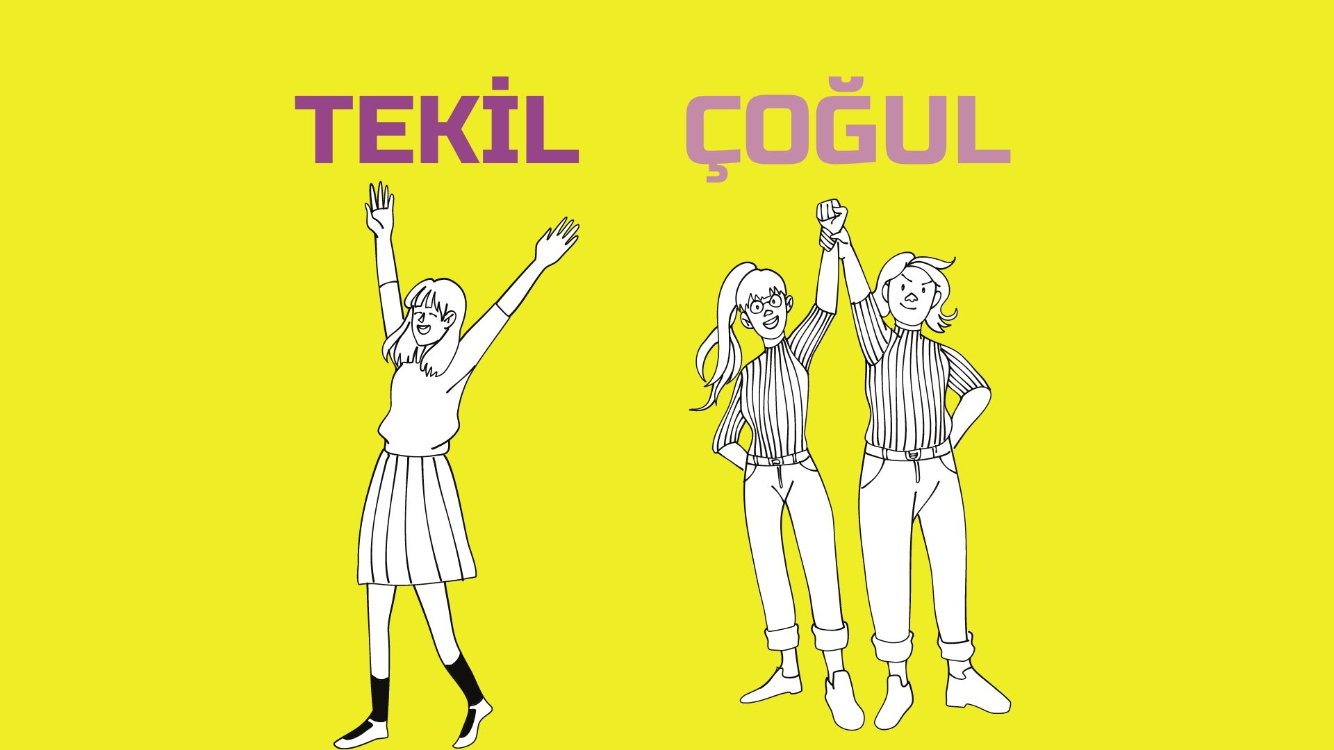 1.Sınıf Türkçe Tekil Adlar ve Çoğul Adlar Konu Anlatımı
