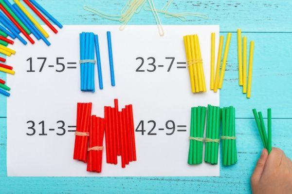 1.Sınıf Matematik Doğal Sayılarda Çıkarma İşlemi Testi