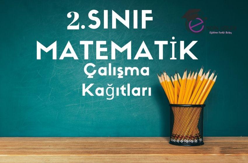 2.Sınıf Matematik Ara Tatil Çalışma Kağıtları